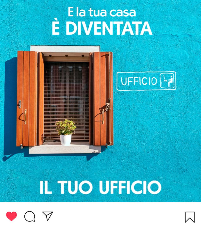Campagna di sensibilizzazione social per Uretek: l'ufficio.
