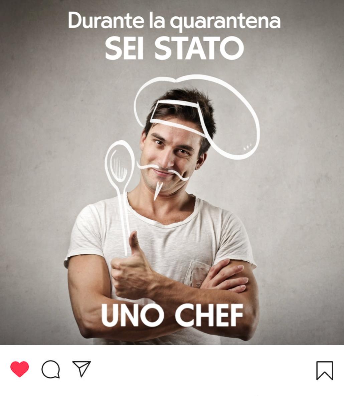 Campagna di sensibilizzazione social per Uretek: uno chef..