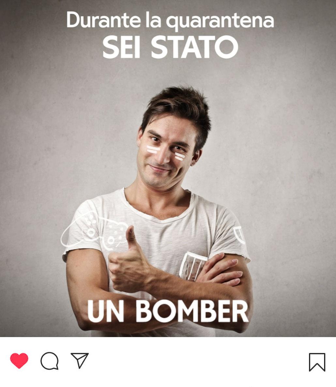 Campagna di sensibilizzazione social per Uretek: un bomber.