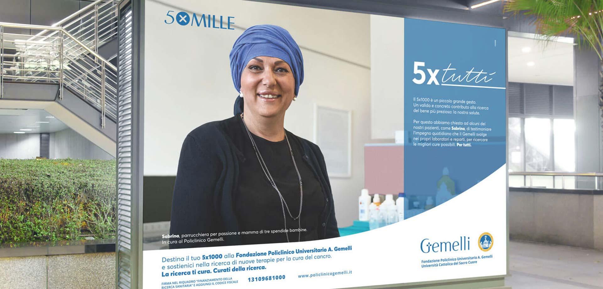 campagna Gemelli 5xMille