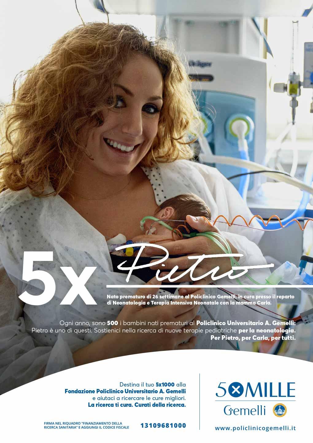 Campagna Gemelli 5xTutti: quinto soggetto