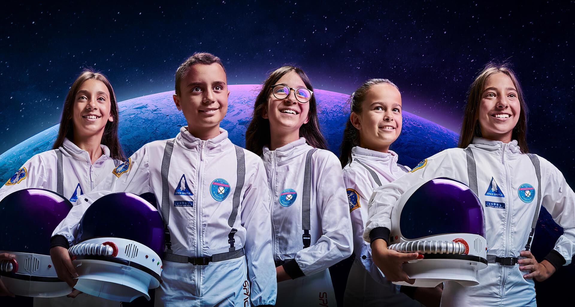 Gruppo di astronauti per la campagna