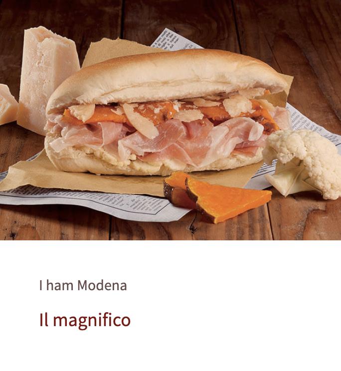 Ricetta sul nuovo sito del Consorzio del prosciutto di Modena