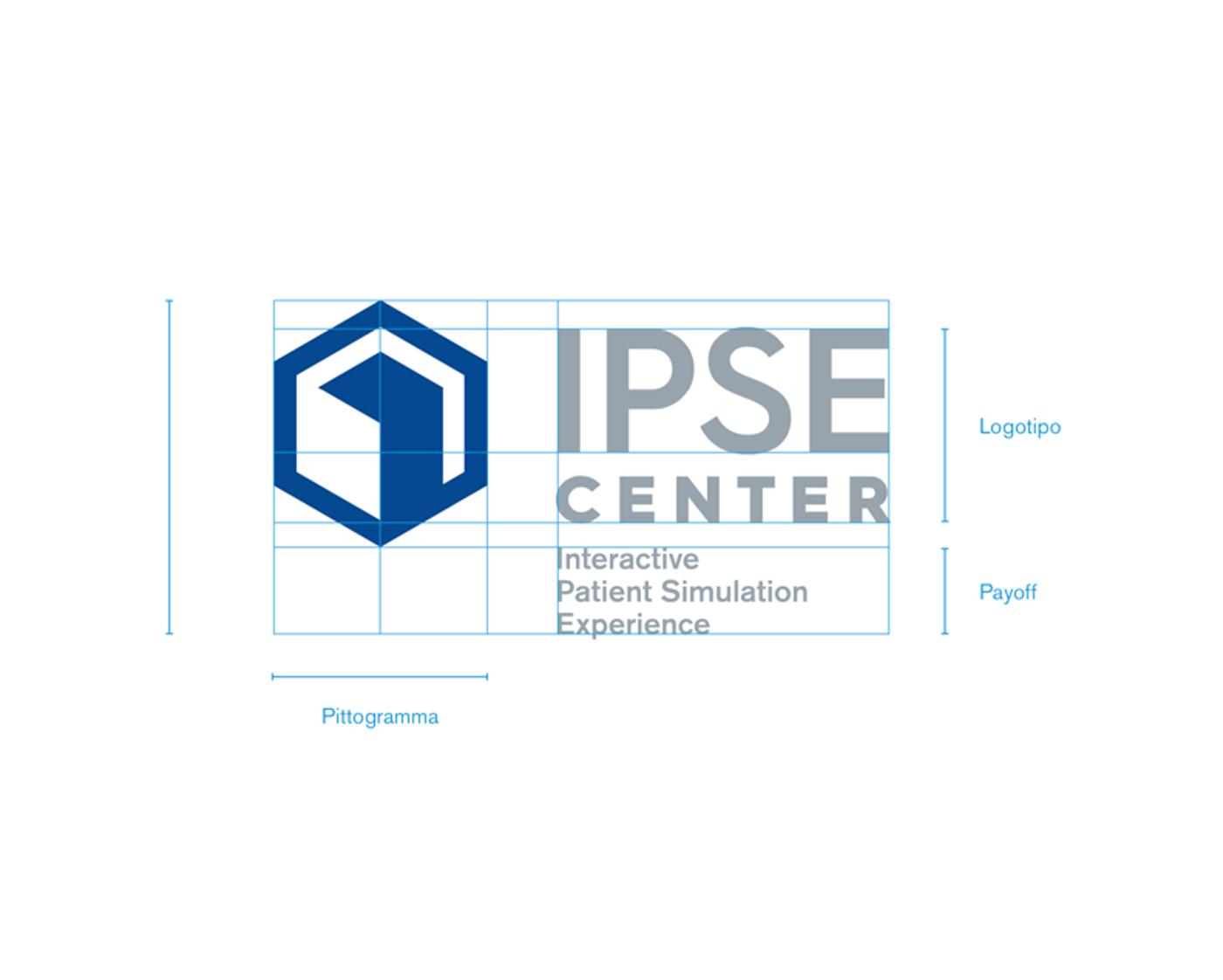 Logo Ipse Center per la fondazione Gemelli