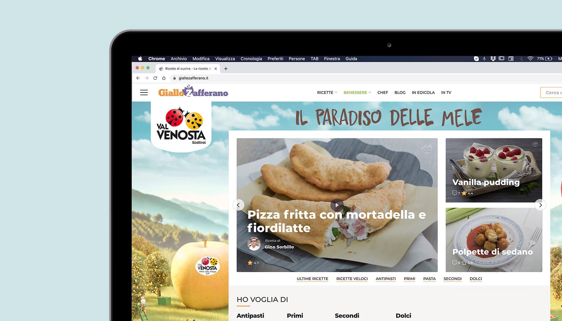 Campagna di web marketing per